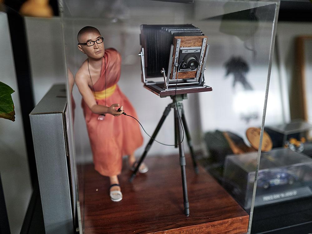 Mikio Hasui model figurine