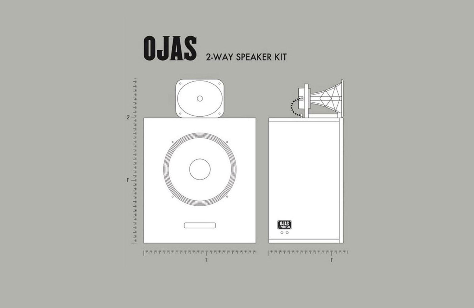 OJAS 2-Way Loudspeaker Kit