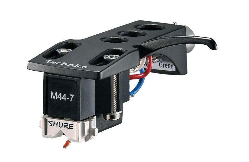 Shure M44-7 on Technics Headshell