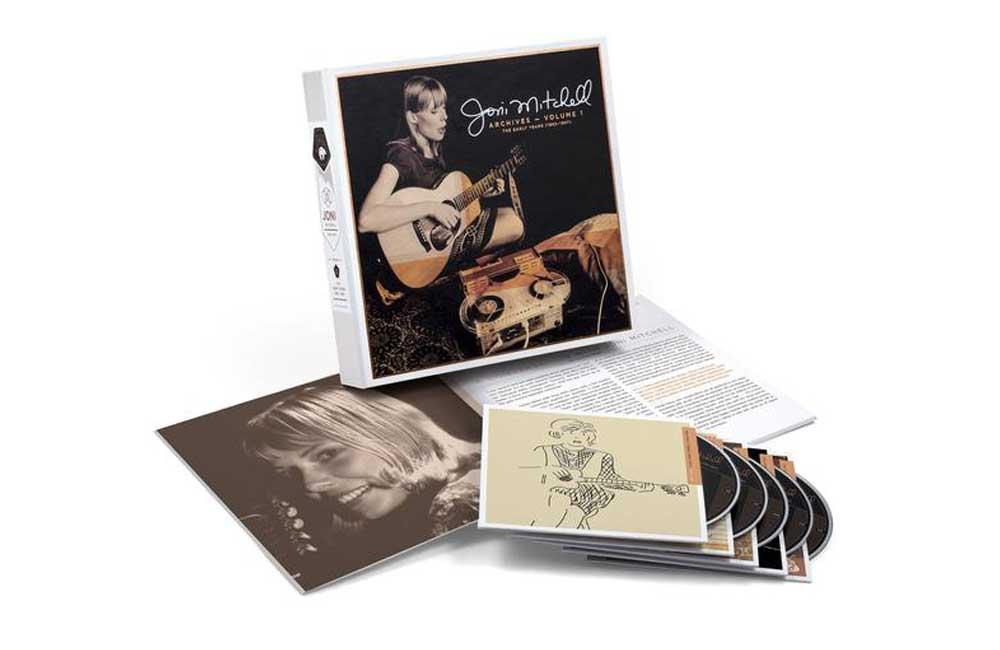 Joni Mitchell 5CD